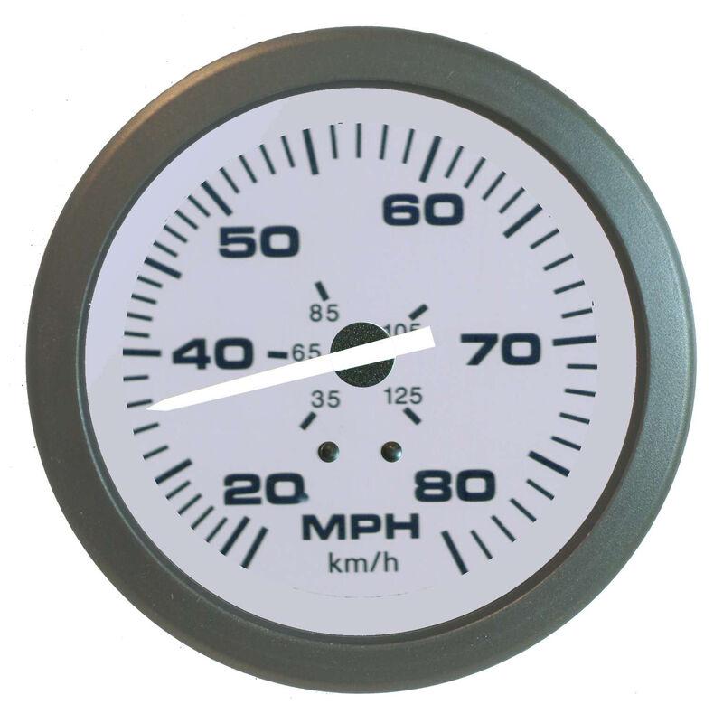 "Sierra Driftwood 3"" Speedometer, 80 MPH image number 1"