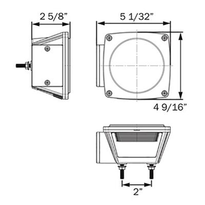 Optronics GloLight Traditional-Style LED Trailer Light Kit
