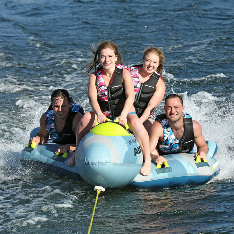 Airhead Jet Fighter 4-Person Towable Tube image number 12