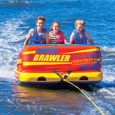 Gladiator Super Brawler 3-Person Towable Tube