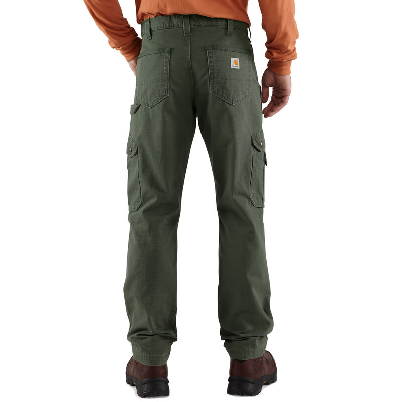 Carhartt Men's Relaxed Fit Double-Front Cargo Work Pant image number 9