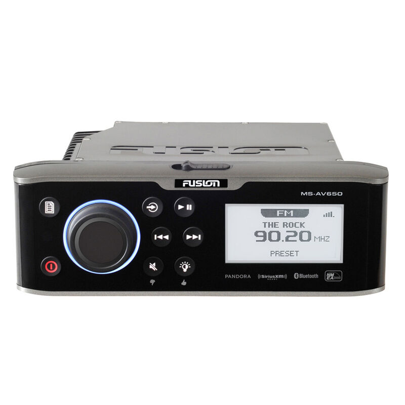 Fusion AV650 DVD/CD Marine Entertainment System With Bluetooth image number 1
