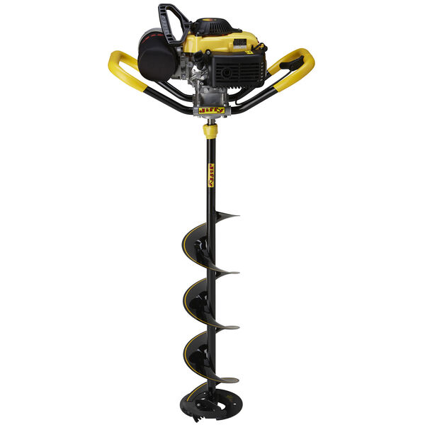 "Jiffy 46X-Treme Ice Auger with 10"" Stealth STX Drill Assembly"