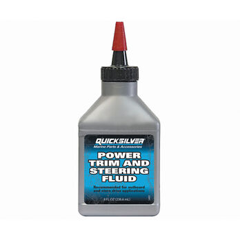 Quicksilver Power Trim Fluid, 8 oz.