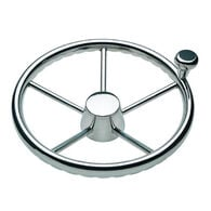 """Destroyer 5-Spoke Wheels w/Finger Grips and Control Knobs - 13.5"""" dia."""