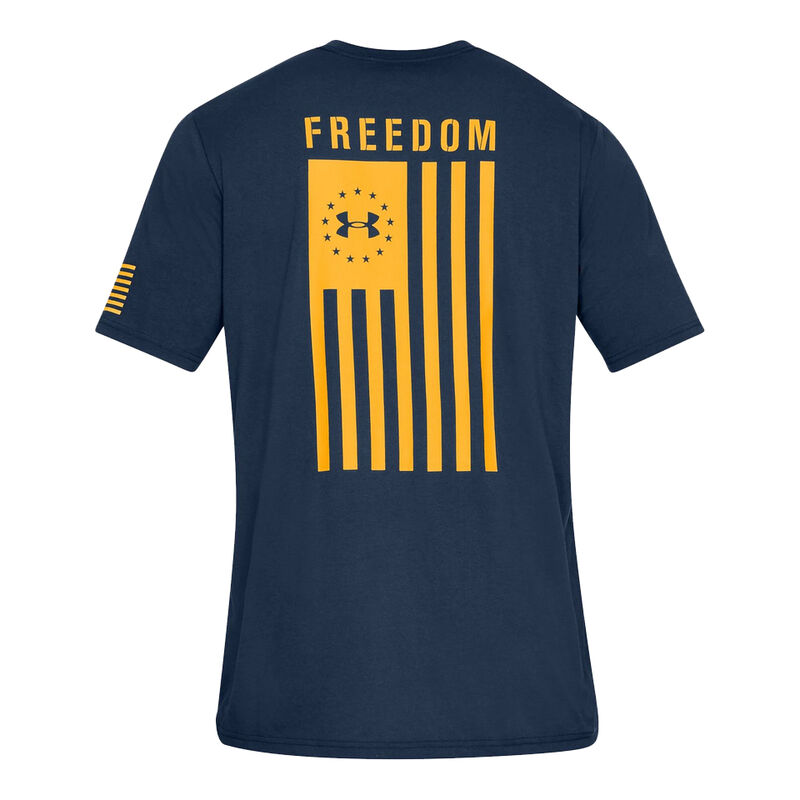 Under Armour Men's Freedom Flag Graphic Tee image number 2