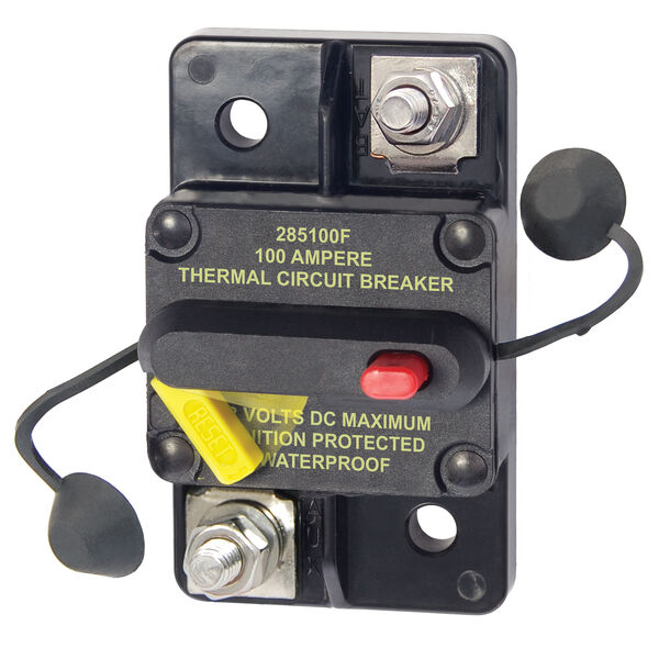 Blue Sea Systems 285 Series Circuit Breaker, Surface Mount, 100 Amp