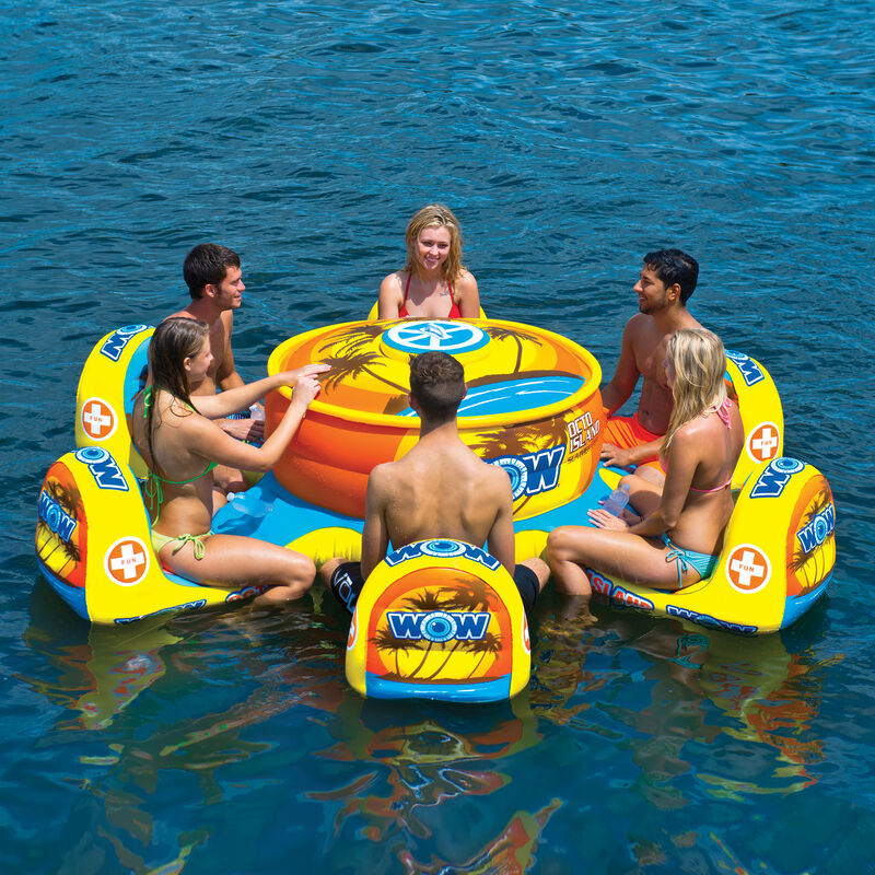 WOW Octo Island 6-Person Floating Table image number 4