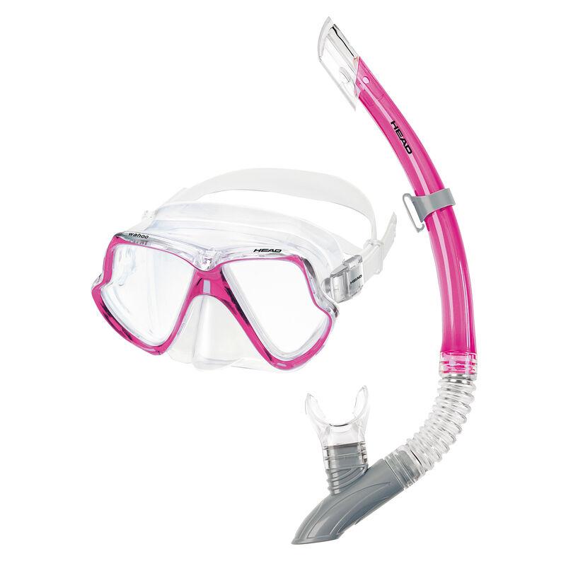 Head Dolphin Mask/Splash Snorkel Set image number 1