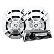 Kenwood KMR-D375BT CD Bluetooth Media Receiver Package