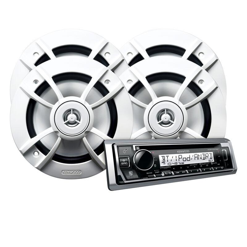 Kenwood KMR-D375BT CD Bluetooth Media Receiver Package image number 1