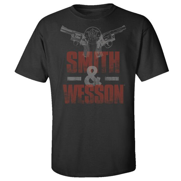 Smith & Wesson Men's Two Gun Short-Sleeve Tee