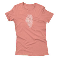 Points North Women's Word Cloud IL Short-Sleeve Tee