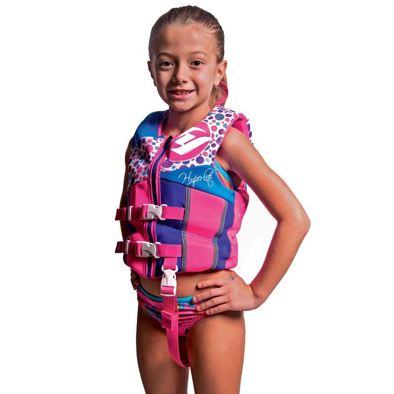 Hyperlite Pro V Child Life Jacket, pink image number 4
