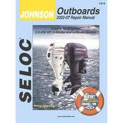 Sierra Service Manual For Johnson Engine, Sierra Part #18-01314