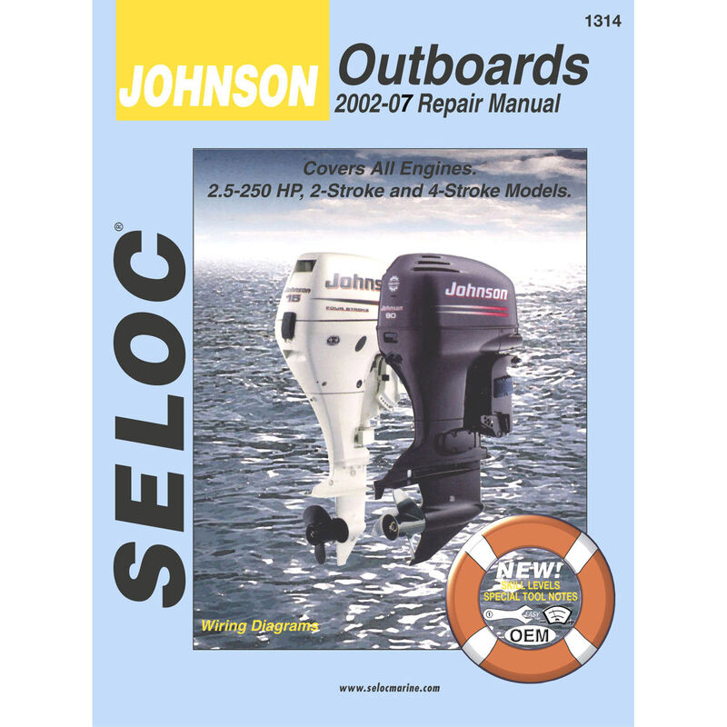 Sierra Service Manual For Johnson Engine, Sierra Part #18-01314 image number 1