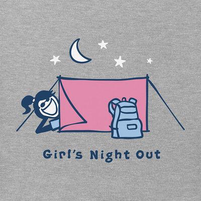 Life Is Good Women's Tent Jackie Vintage Short-Sleeve Crusher Tee