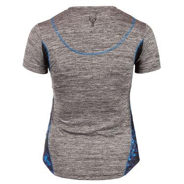 Huntworth Women's Lifestyle V-Neck Short-Sleeve Tee