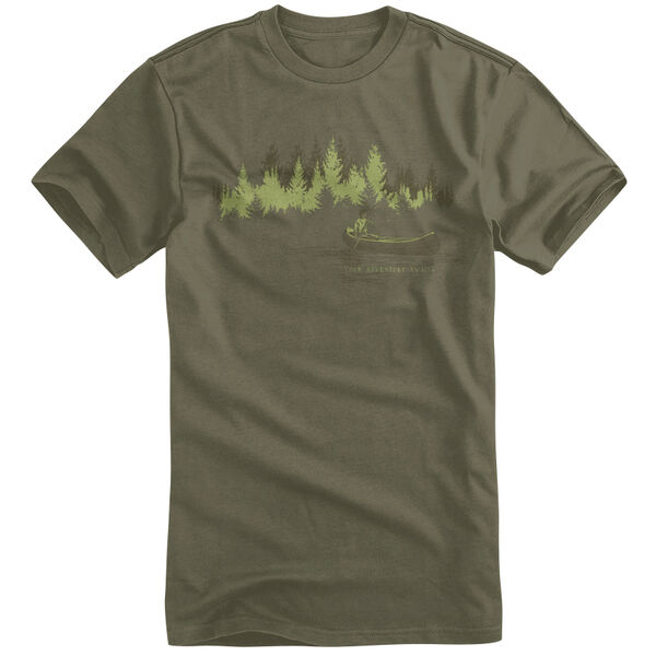 Points North Men's Your Adventure Awaits Short-Sleeve Tee