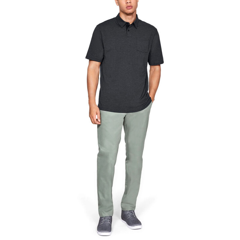Under Armour Men's Charged Cotton Scramble Polo image number 10