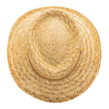 Dorfman-Pacific Men's Rush Gambler Straw Hat