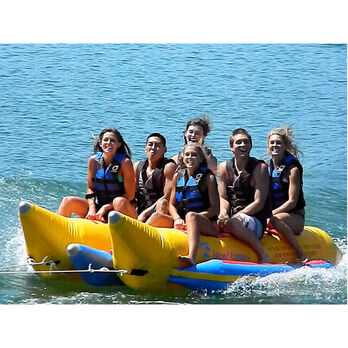Island Hopper 6-Person Towable Banana Boat