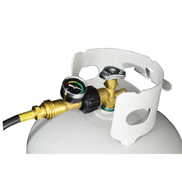Propane Gas Gauge & Leak Detector