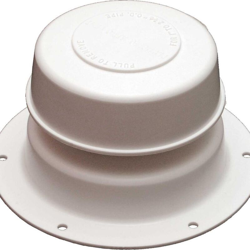 Replace-All Plumbing Vent Only - Polar White image number 1