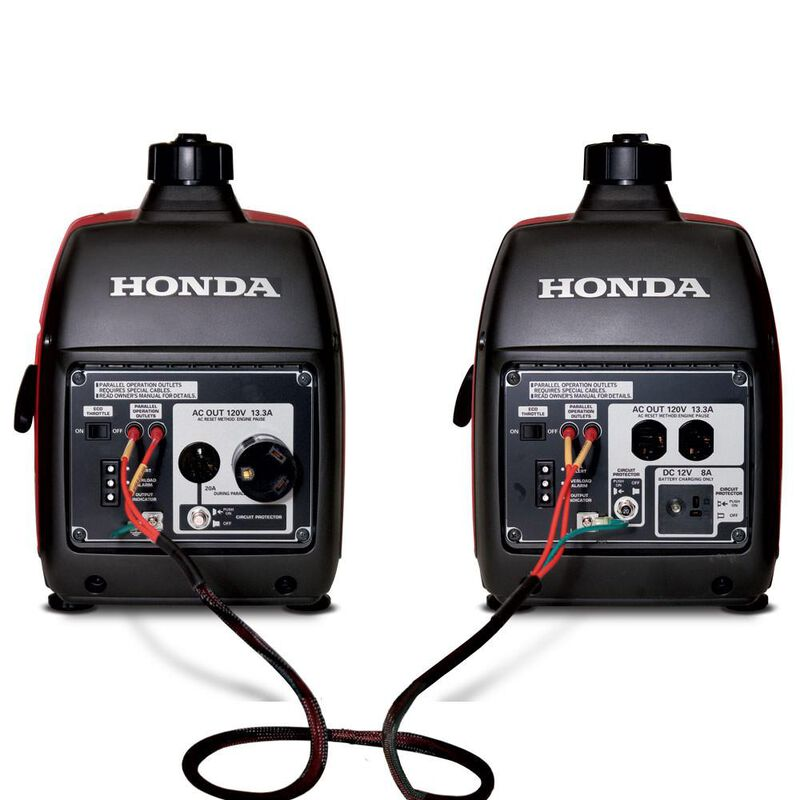 Honda Parallel Cables with 30-Amp Adapter Kit image number 1