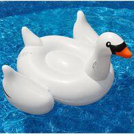 Swimline Giant Swan Ride-On Float