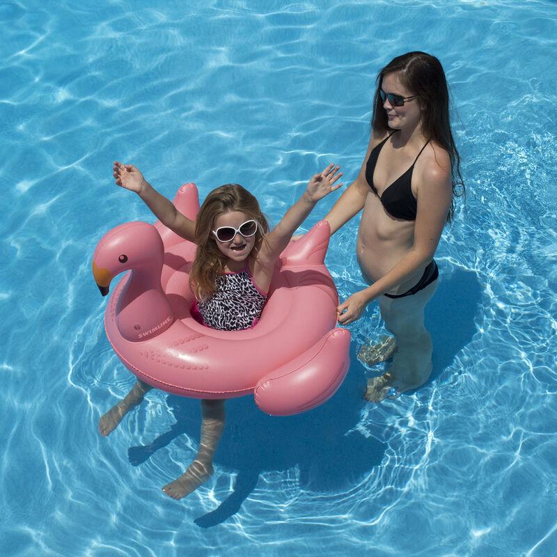 Swimline Flamingo Baby Seat Float image number 3