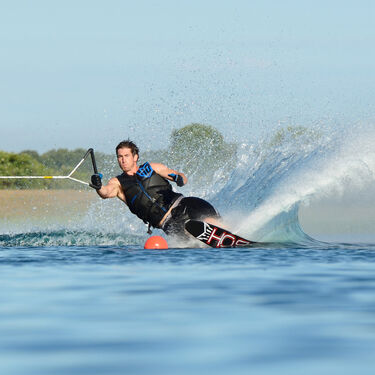HO Factory-Blemished CX Slalom Waterski With Double Free-Max Bindings
