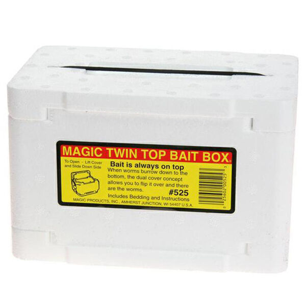 Magic Twin Top Bait Box
