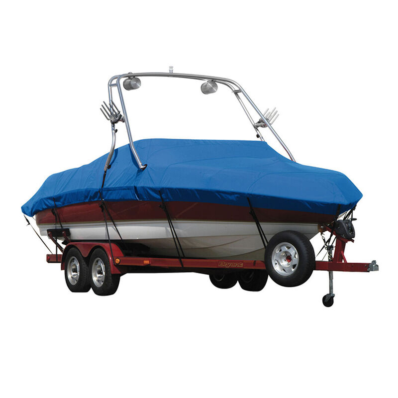 Exact Fit Sunbrella Boat Cover For Cobalt 200 Bowrider With Tower Covers Extended Platform image number 12