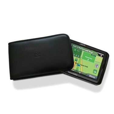 """Leather Sleeve Case for GPS - 5"""""""
