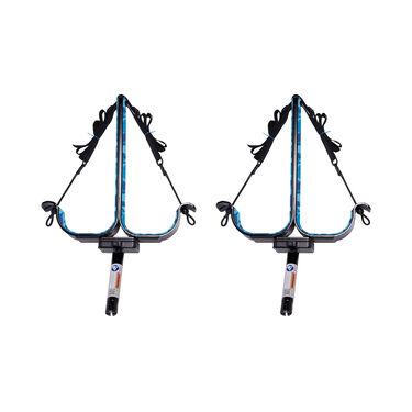 Manta Racks S2 Black Double Paddleboard Rack For 15° Rod Holders