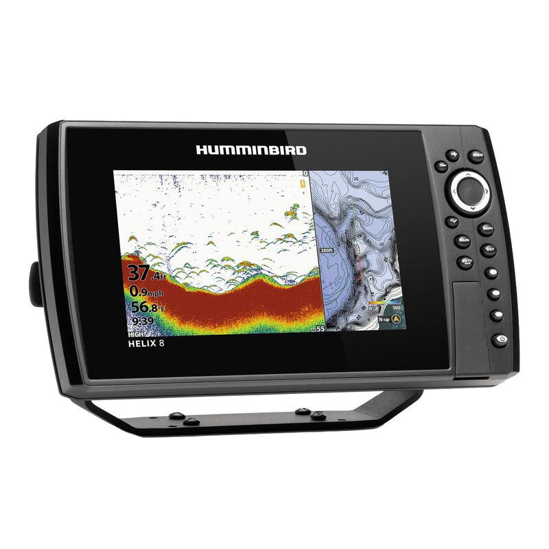 Humminbird Helix 8 CHIRP MEGA SI+ GPS G3N Fishfinder Chartplotter image number 2