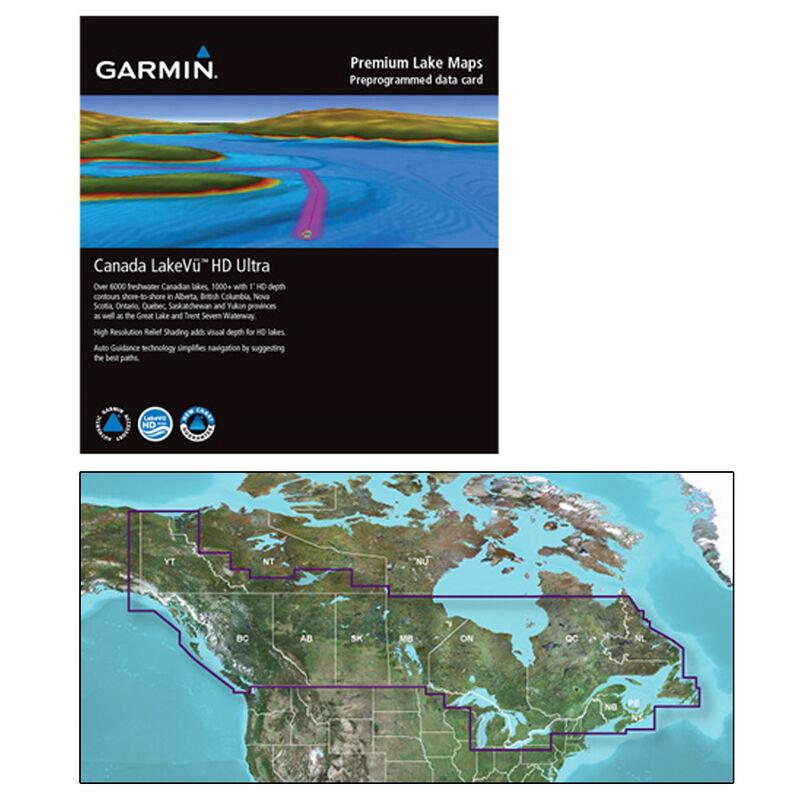 Garmin Canada LakeVu HD Ultra MicroSD/SD Card For GPSMAP/echoMAP Series image number 1
