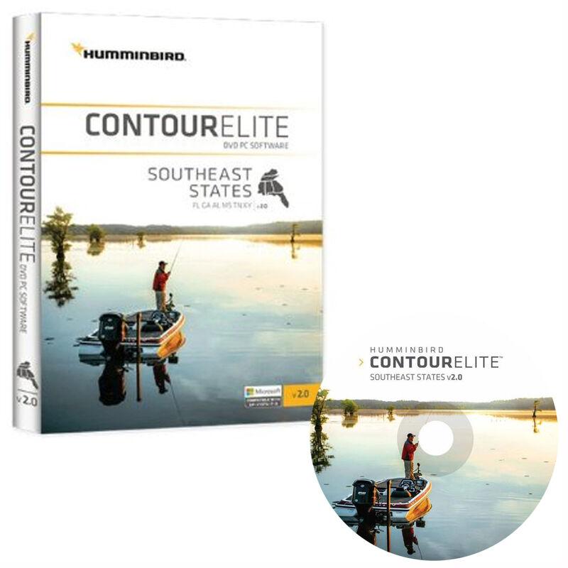 Humminbird Contour Elite Software, Southeast States image number 1