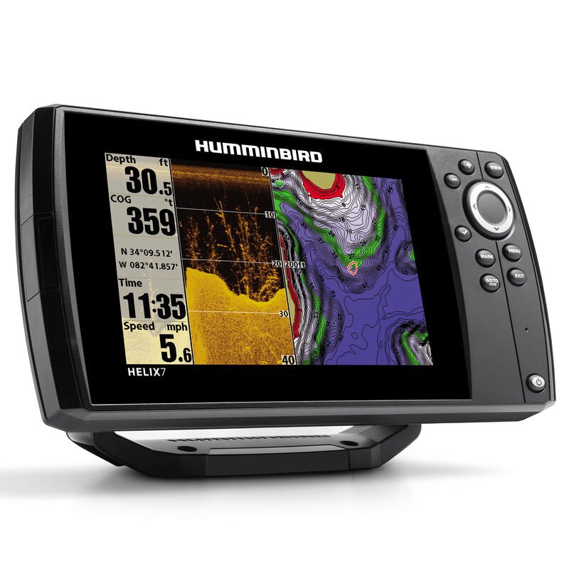 Humminbird Helix 7 DI Fishfinder GPS Combo image number 2