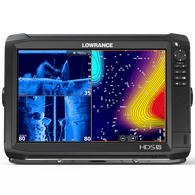Lowrance HDS-12 Carbon Fishfinder Chartplotter w/TotalScan Transducer