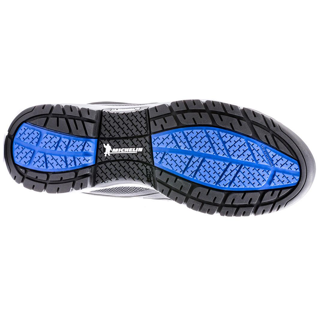 Spectre Black Steel Toe Work Shoe
