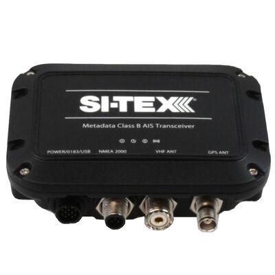 SI-TEX Metadata Class B AIS Transceiver with Internal GPS