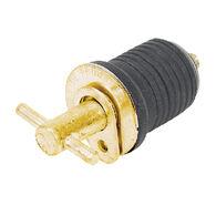 """Moeller 1-1/4"""" Brass Turn-Tite Plug, 50-Pack"""