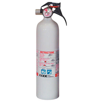 Kidde Mariner 10 BC Fire Extinguisher with Gauge