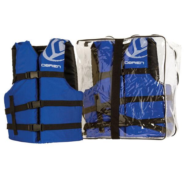 O'Brien Universal Life Jackets, 4-Pack