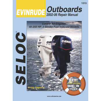 Seloc Marine Outboard Repair Manual for Evinrude '02 - '14