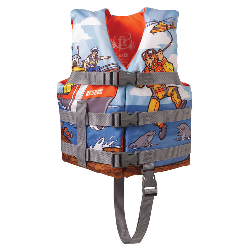 Overton's Rescue Child Life Jacket (fits 30-50 lbs.) image number 1