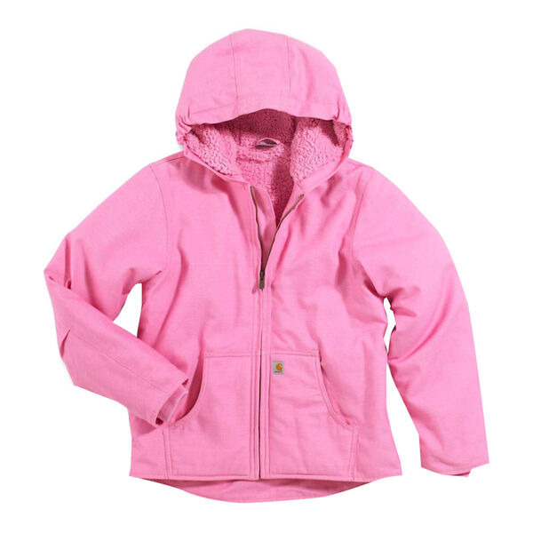 Carhartt Girl's Sherpa-Lined Redwood Jacket