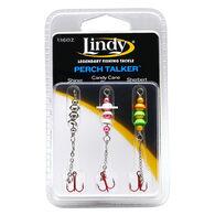 Lindy Perch Talker Ice Jigs, 3-Pack